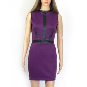 Bebe Purple Party Dress